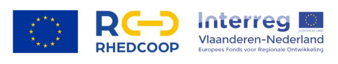 logo RHEDCOOP Interreg EU