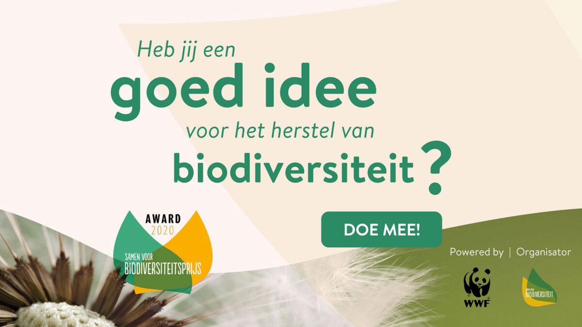 Win € 25.000 voor jouw biodiversiteitsherstelproject