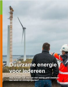 Cover brochure Duurzame Energie