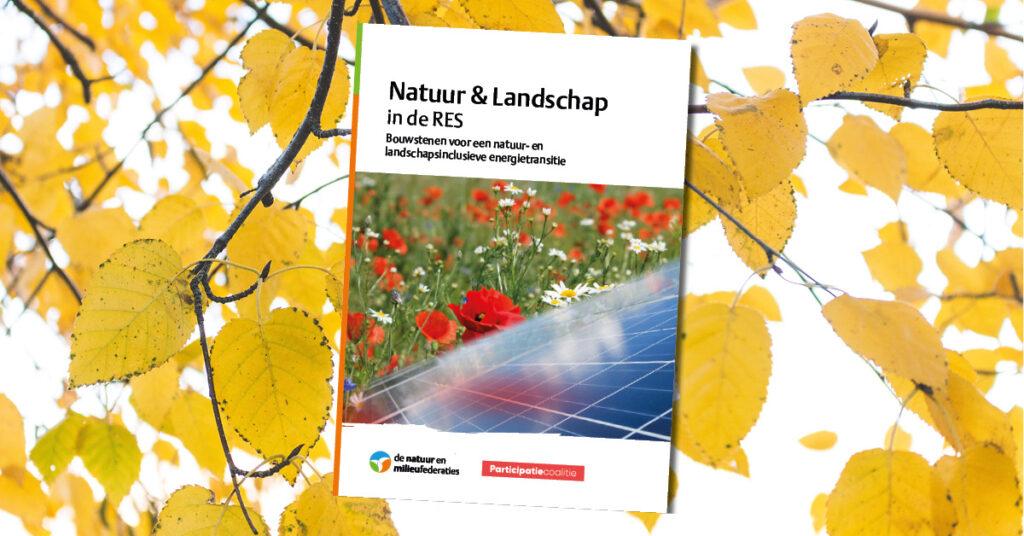 Natuur & landschap in de RES: bouwstenen voor een natuur- en landschapsinclusieve energietransitie