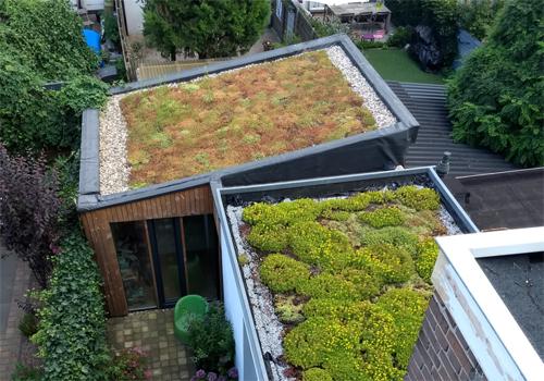 Verplicht groene maatregelen bij woningbouw