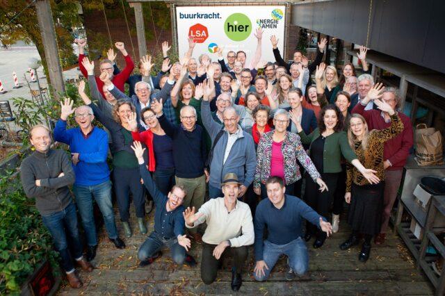 Groepsfoto participatiecoalitie