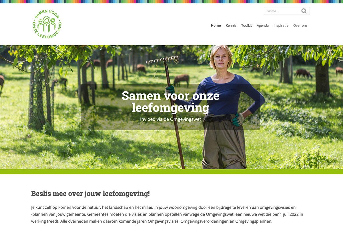 Natuurorganisaties lanceren website Samen voor onze leefomgeving