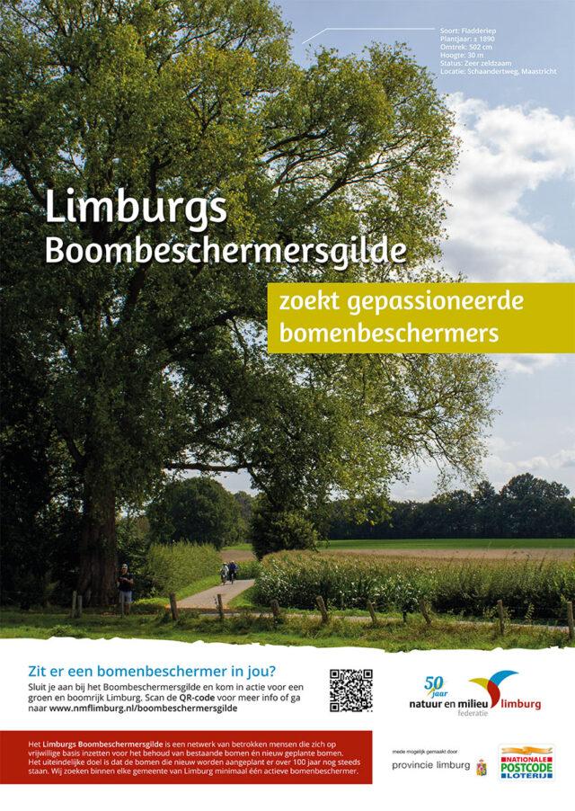Boombeschermersgilde poster bomenbeschermers gezocht