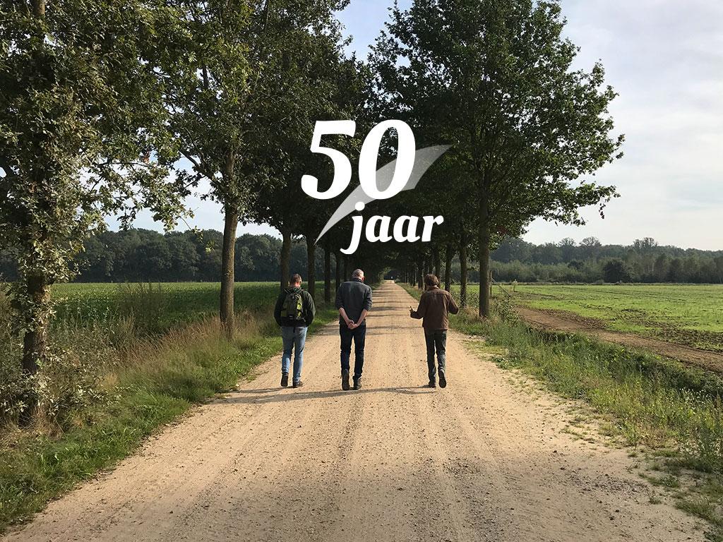 Wandeltour 50-jarig jubileum van start